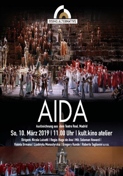 AIDA - Teatro Real, Madrid: Poster