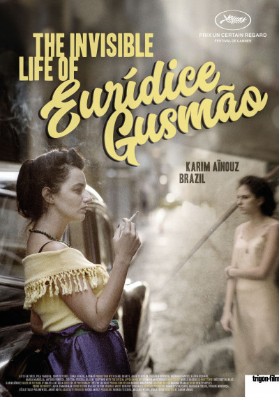 The invisible life of Euridice Gusmão: Poster