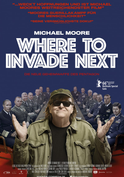Where to invade next: Poster
