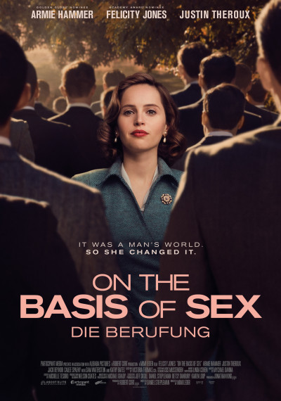 On the Basis of Sex: Poster