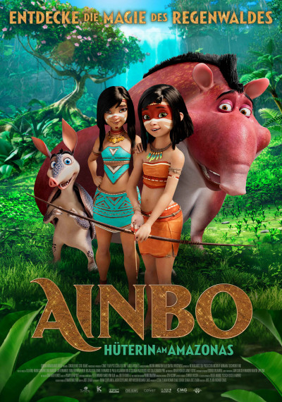 AINBO: Spirit of the Amazon: Poster