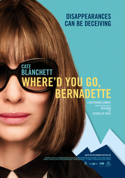 Where'd You Go, Bernadette: Poster