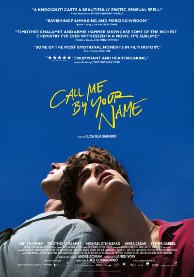 Call me by your Name: Poster