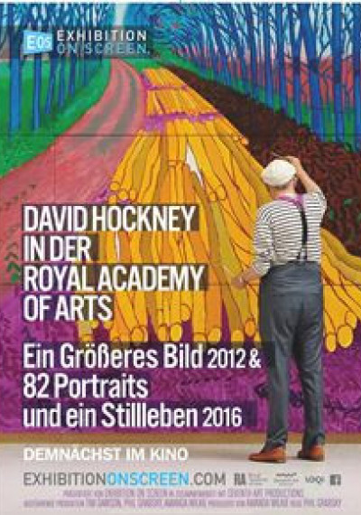 David Hockney at the Royal Academy of Arts: Poster