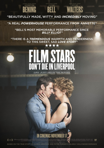 Film Stars don't die in Liverpool: Poster