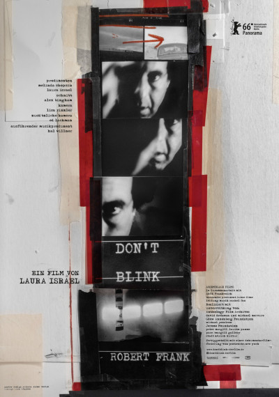 Don't Blink - Robert Frank: Poster