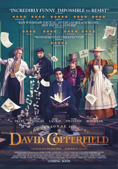 The Personal History of David Copperfield: Poster