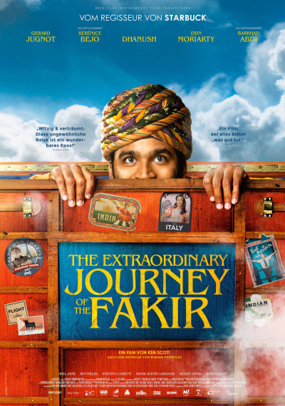 The Extraordinary Journey of the Fakir: Poster