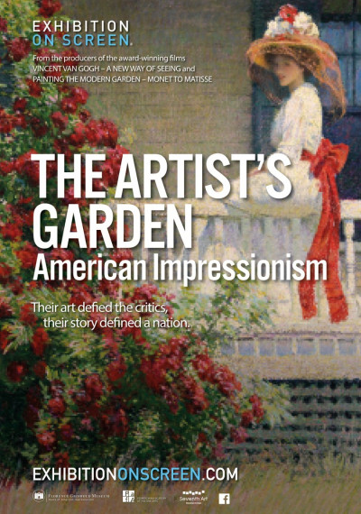 The Artist's Garden: American Impressionism: Poster