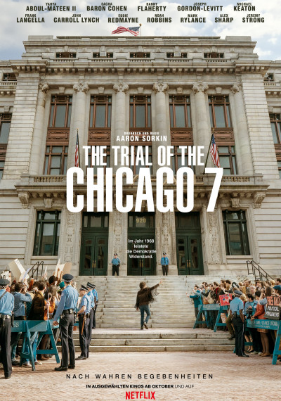 The Trial of the Chicago 7: Poster