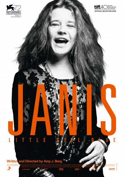 Janis: Little Girl Blue: Poster