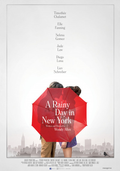 A rainy Day in New York: Poster