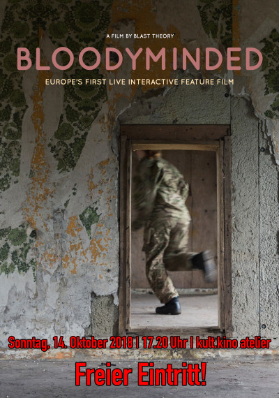BLOODYMINDED - LIVE FILM: Poster