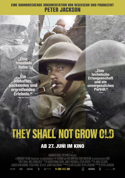 They Shall Not Grow Old: Poster