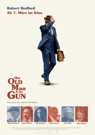 The old Man and the Gun: Poster