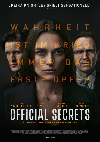 Official Secrets: Poster