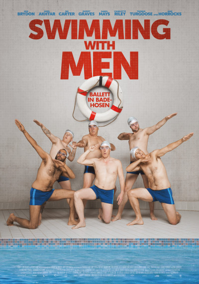 Swimming with Men: Poster