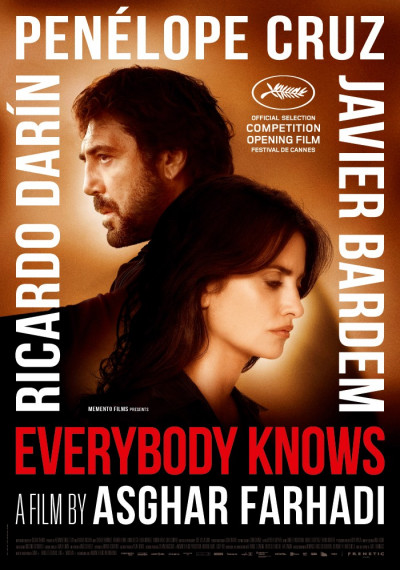 Todos lo saben - Everybody knows: Poster