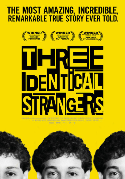 Three Identical Strangers: Poster