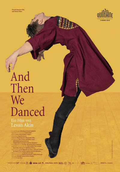 And Then We Danced: Poster