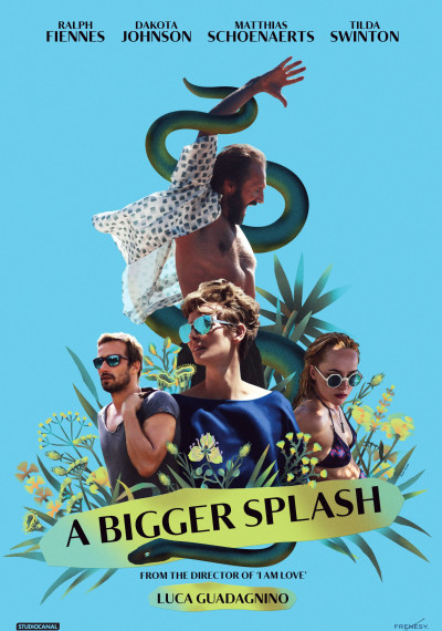 A Bigger Splash: Poster